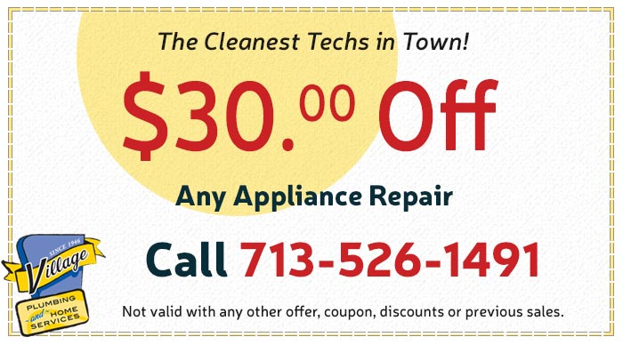Coupon for Any Appliance Repair